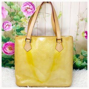 Authentic Louis Vuitton Vernis Houston Tote Bag
